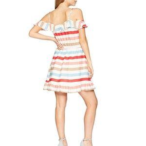 Jack by BB Dakota Cold Shoulder Ruffle Sun Dress